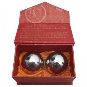 50mm空心铃音 男士用保健球,纸盒包装